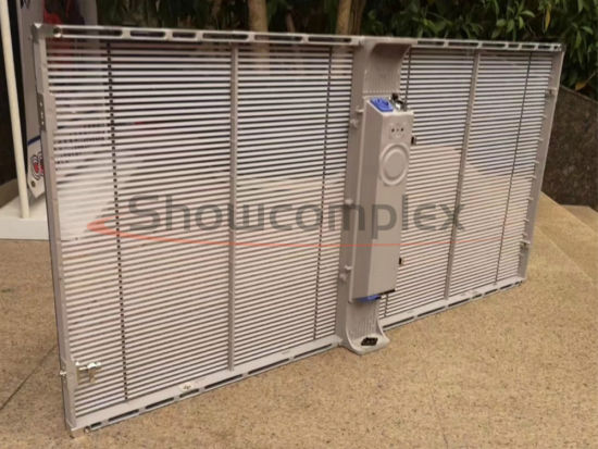P5.2 Transparent Video Screen Wall for Shopping Mall with SMD2525
