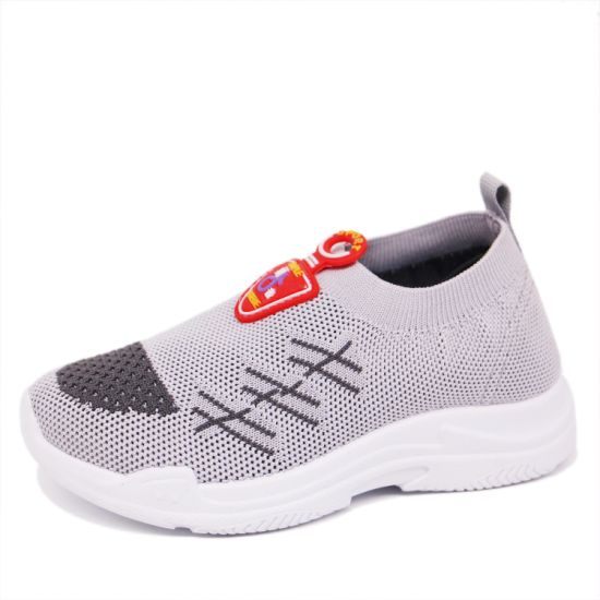 New Fashion Boy's Sneakers Flyknit Casual Sports Shoes for Kids