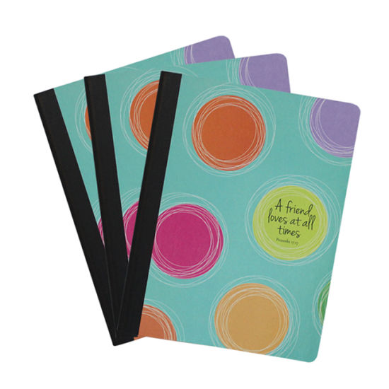 Color Stitching Art School Wholesale Stationery Dotted Notebook Exercise Book