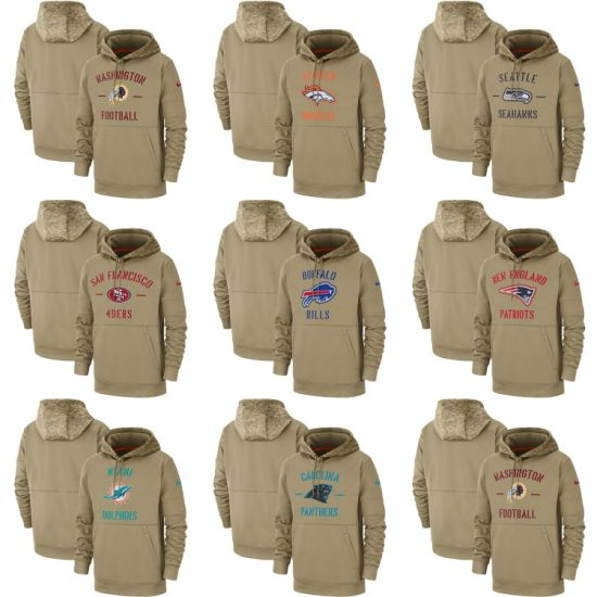 2019 Salute to Service Patriots 49ers Seahawks Broncos Dolphins Hoodies