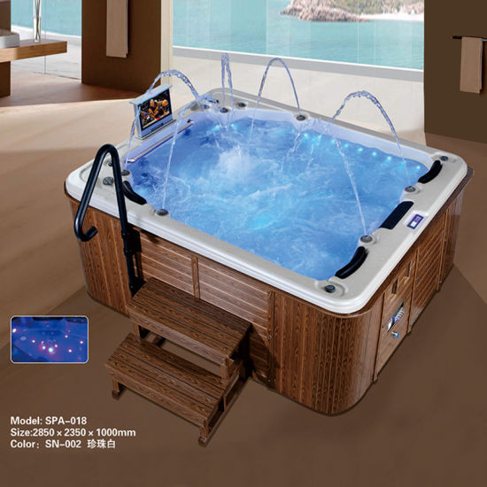 Modern Luxury Tv Spa Indoor Hot Tubs Sale 5 Person China Spa Tub Spa Made In China Com