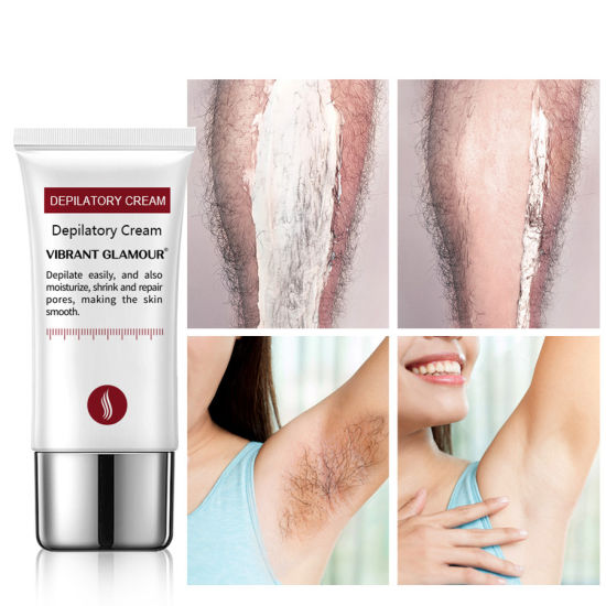 Vibrant Glamour Hair Removal Cream Painless Depilatory Cream Armpit Legs Arms Hair Removal Nourishing Repair Cream