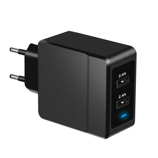 24W Us/EU Plug High Quality AC DC Power Adapter pictures & photos