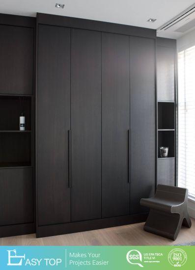 Hot Sale Wardrobe Wood Almirah Designs in Bedroom