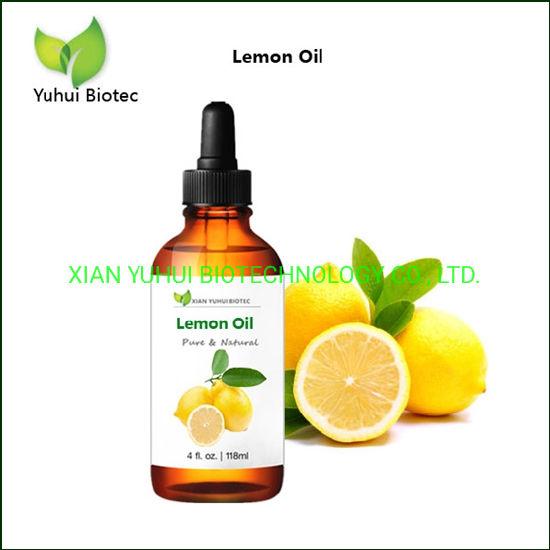 Cold Pressed Lemon Essential Oil for Skin-Brightening