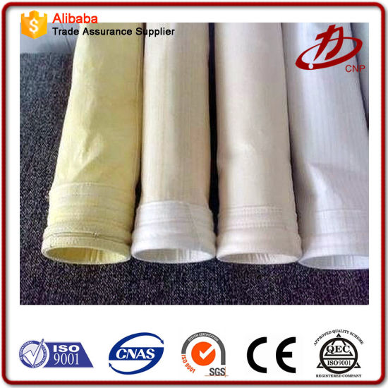 PPS+ PTFE Fabric Filter Bags for Dust Collector in Incinerator Application