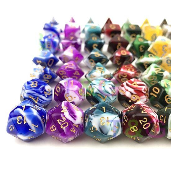 Custom Game Dice /Bulk Dice/ Wholesale Polyhedral Dice Set