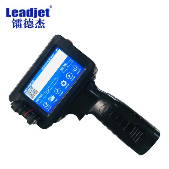 Portable Leadjet S300 Handheld Inkjet Coding Machine