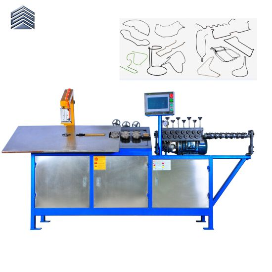 Automatic 2D CNC Wire Steel Wire Forming Machine