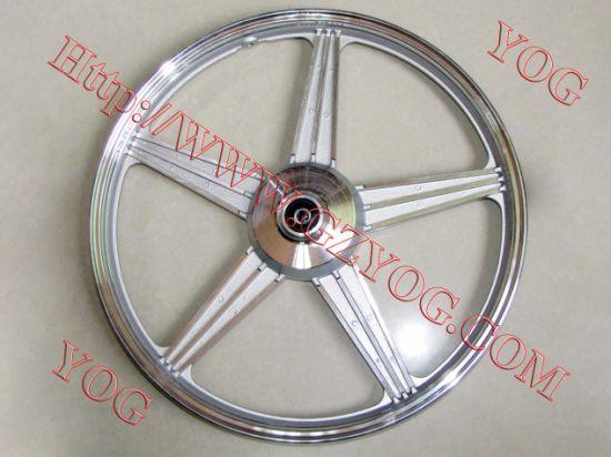 Yog Spare Parts Motorcycle Aluminum Rim Complete Alloy Wheel for Cg 125 Cg150