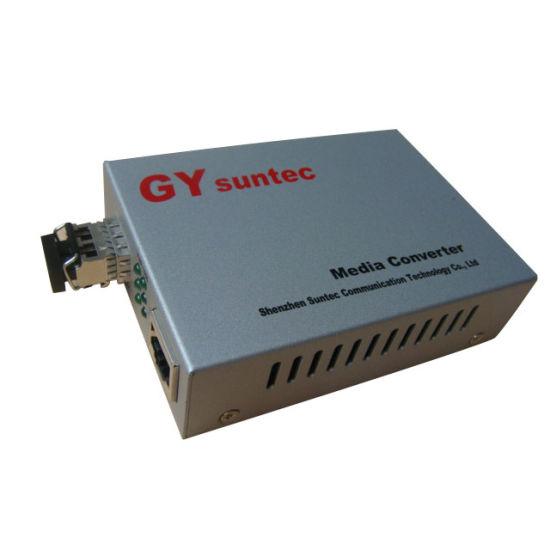 10/100Mbps Bi-Di Fiber Media Converter (GY-S25F3-05SS-20A)