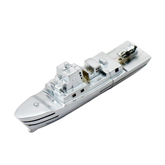 Silvery Warship USB Pen Drive Flash Disk 32GB Boy′s Gift pictures & photos
