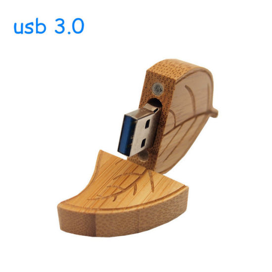 Wood Leaf Pen Drive 4G 8g 16g 32g USB Flash Drive Memory Stick Pendrives