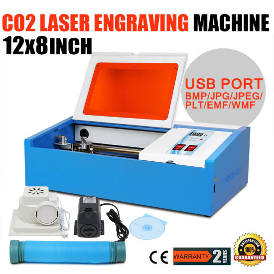 40W CO2 Laser Engraving Machine for Stamp Making pictures & photos