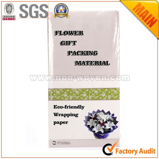 Non Woven Flower & Gift Wrapping Materials No. 7 Cream