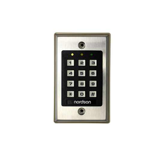 Stainless Steel Panel Single Relay Output Digital DC12V Standalone Access Controller with Keypad pictures & photos