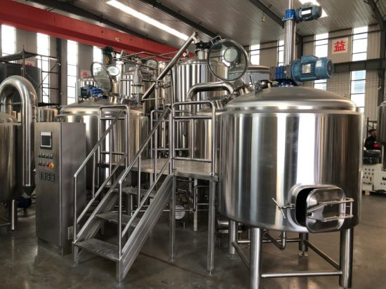 1000L Bier Brew House Beer Brewing Equipment Lager Making Machine