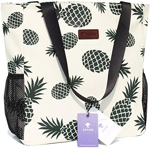 Original Floral Water Resistant Large Tote Bag Shoulder Bag