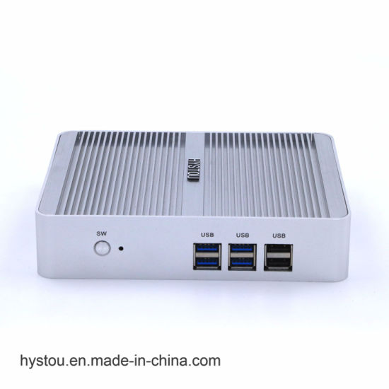 Mini PC Celeron N3150 Small Form Factor Computer with Dual LAN 6 USB Firewall Mini PC TV Box pictures & photos