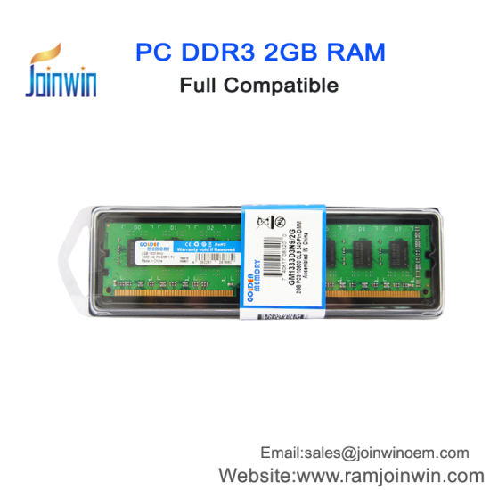 China Golden Manufacturer Factory Price 1333mhz Ram Ddr3 2gb For