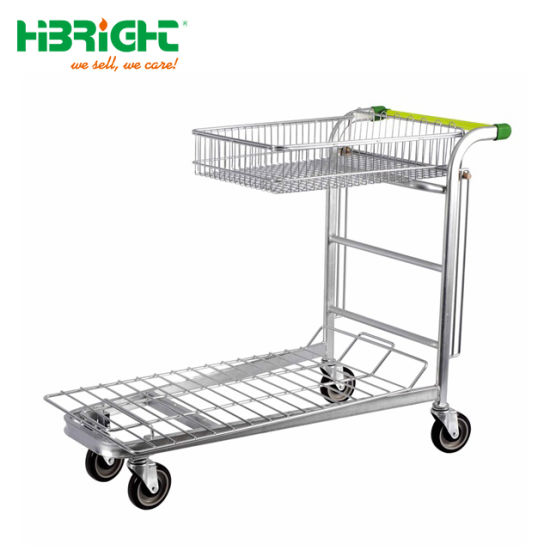 Heavy Duty Large Warehouse Industrial Hand Trolleys Logistic Cart pictures & photos