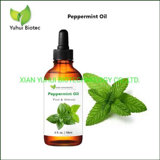 Pure Grade Peppermint Leaf Essential Oil for Headaches and Ibs