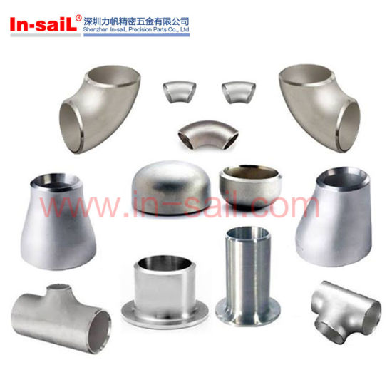 DIN Stainless Steel Polishing Welding Tee Pipe Fitting for Water