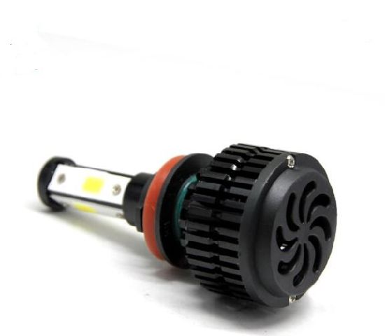 360 Degree Four Side COB 80W LED Headlight Bulb H11 H1 H4 H7 pictures & photos