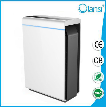 Hot Selling Good Looking Air Purification with Pm2.5 Sensor with Remote Control Button Panel Family Using Air Purifier for OEM ODM Shenzhen Wuhan Manufacturer