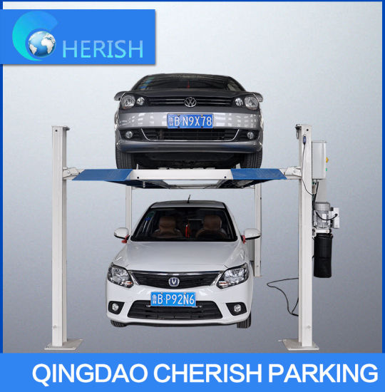 Four Post Hydraulic Car Parking Lift with Ce