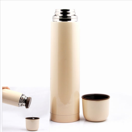 1000ml 18/8 Stainless Steel Bullet Vacuum Thermos Flask