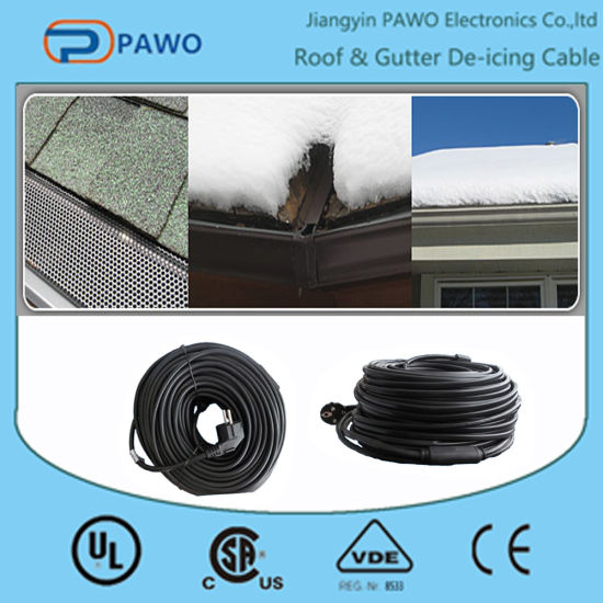 400w Pvc Electrical Heating Cable Roof Deicing With Ce Pictures Photos