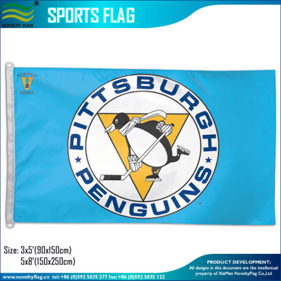 Pittsburgh Penguins Vintage Blue NHL Hockey Team 3X5′ Flag pictures & photos