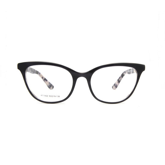 3081ad2bd 2018 Fashionable Eyewear Hot Selling Cat Eye Shape Acetate Eyeglasses  Optical Frames (RT1062) pictures