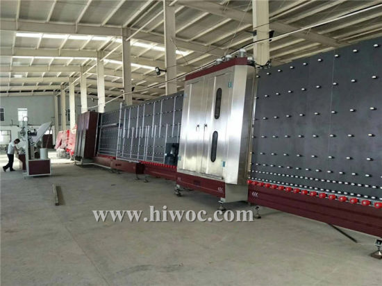 Factory Direct Sale 2 Years Warranty Time Insulating Glass Cleaning and Pressing Machine