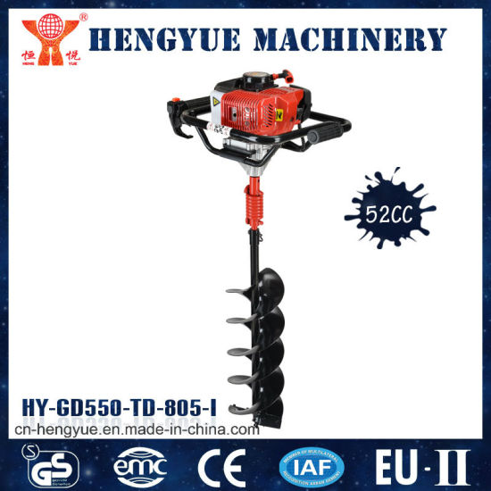 China Ground Screw Drill Earth Auger with High Quality