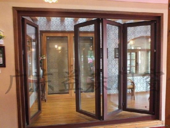 Folding Patio Door. Home Improvement Aluminium Double Glazing Folding Patio  Door By Woodwin Guangdong Folding