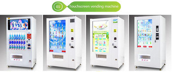 Multi-Media Advertising LCD Display Screen Combo Book Vending Machine pictures & photos