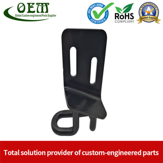 RoHS Compliant E-Coated Metal Stamping Latch for Car Application