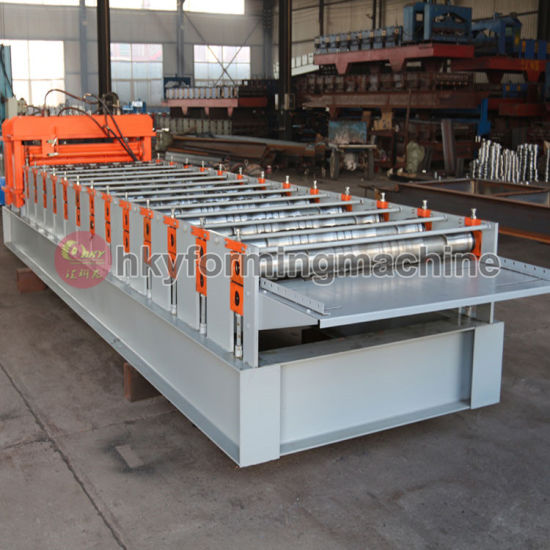 Hky31-202-808 Roll Forming Machine (Glazed Tiles) pictures & photos