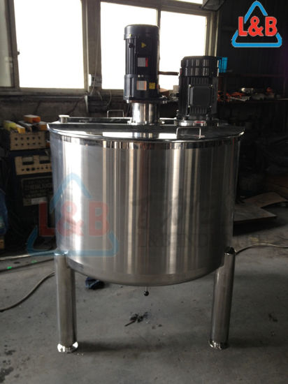 150 Gallon Stainless Steel Vertical Open Top Mixing Tank