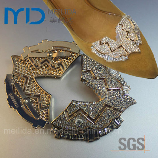 Shiny Crystal Rhinestone Buckles for Women′s Dress Shoes pictures & photos