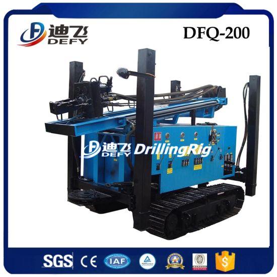 200m Hydraulic DTH Rock Drilling Rig Machine