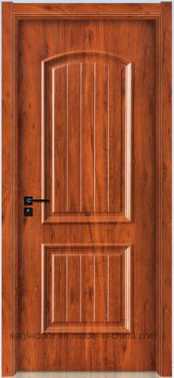 Simple Designs Modern Wood Door Design Melamine Finish Bedroom Interior Wooden Ei 6610