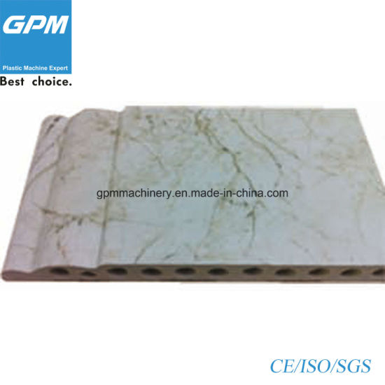 PVC Plastic Imitation Marble Board Production Machinery for Wall pictures & photos