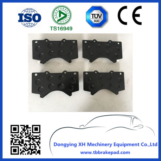 China Front Axle Car Parts Brake Pad D1303 FOR Toyota