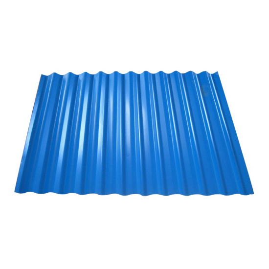 Ral Color Coated Corrugated PPGI Steel Roofing Sheet Price