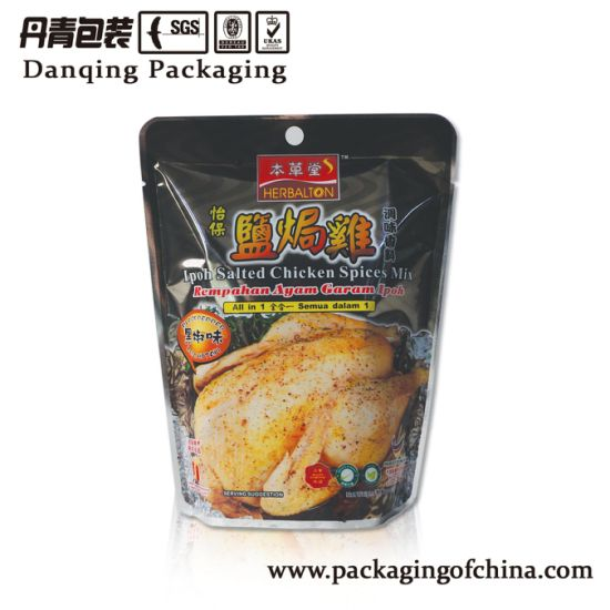 Chaoan Standing Pouch with Zipper for Food Packaging pictures & photos