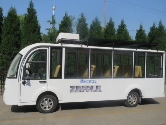 Electric Sightseeing Bus, Electric Car, Minibus pictures & photos