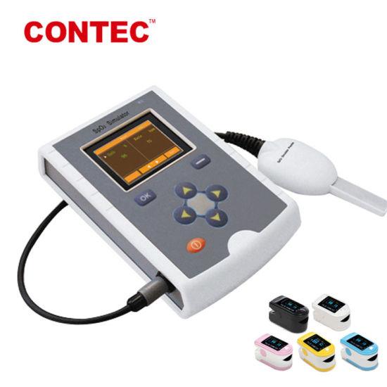 China Contec Ms100 Pulse Oximeter SpO2 Pulse Rate Simulator